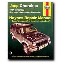 Show details of Haynes Jeep Cherokee Wagoneer and Comanche (84 - 01) Manual.
