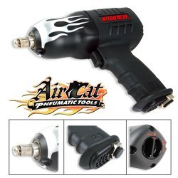 "Show details of AirCat 1000-TC - 1/2"" Drive NitroCat Air Impact Wrench - AirCat - 1000-TC."