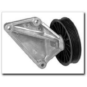 Show details of A/C Compressor Bypass Pulley for 1997-90 Ford E, F Series, Ranger 5.0L and 5.8L.