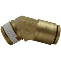 "Show details of Imperial 91247 Brass AIR Brake Rigid Male Elbow 3/8""x3/8"" - 45�."