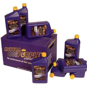 Show details of Royal Purple Street Synthetic Motor Oil - SAE 5w20, Quart Bottle, Pack of 12.