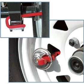 Show details of Brinks 3020-057-2 Trailer Wheel Lock, J-Lock Style.