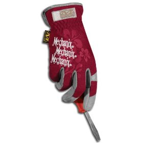 Show details of Mechanix Wear H17-12-520 Small/Medium Womens Utility Glove, Maroon.