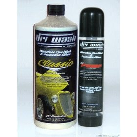 Show details of 32oz Dri Wash 'n Guard Classic Waterless Car Wash (w/Pump).