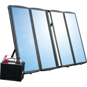 Show details of Sunforce 50044 60-Watt Solar Charging Kit.