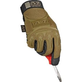Show details of Mechanix Wear MMP-72-010 Mpact Glove, Coyote, Large.