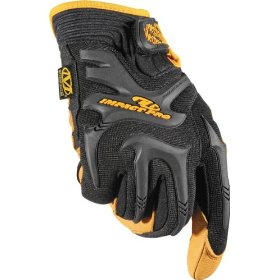 Show details of Mechanix Wear CG30-75-009 Commercial Grade Impact Protection Glove, Black, Medium.