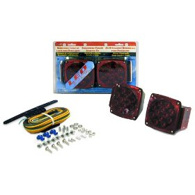 "Show details of Blazer C7421 LED Submersible Trailer Light Kit for Trailers Under 80"" Wide."