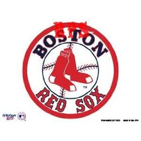 Show details of Boston Red Sox Logo Ultra Decal Cling.