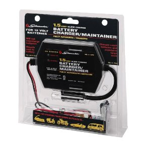 Show details of Schumacher SE-1-12S Fully Automatic Onboard Battery Charger - 1.5 Amps.