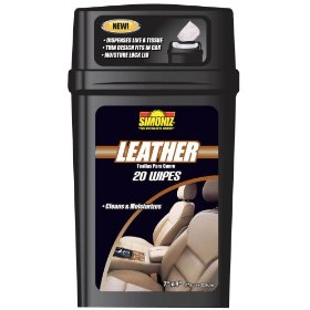 Show details of Simoniz 10228 Thinster Leather Wipes.