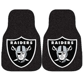Show details of Fanmats NFL - Oakland Raiders Car Mats #5934.