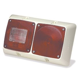 Show details of SMALL TRAILER LIGHTING, RED, VERSALITE DOUBLE SURFACE MOUNT.