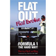 Show details of Flat Out, Flat Broke: Formula 1 the Hard Way! (Paperback).