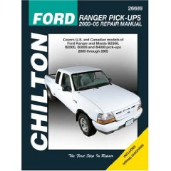 Show details of Ford Ranger Pick-ups: 2000 through 2005 (Chilton's Total Car Care Repair Manuals) (Paperback).